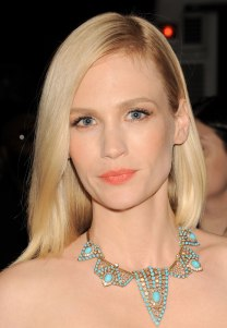 JANUARY JONES at MET Gala 2012